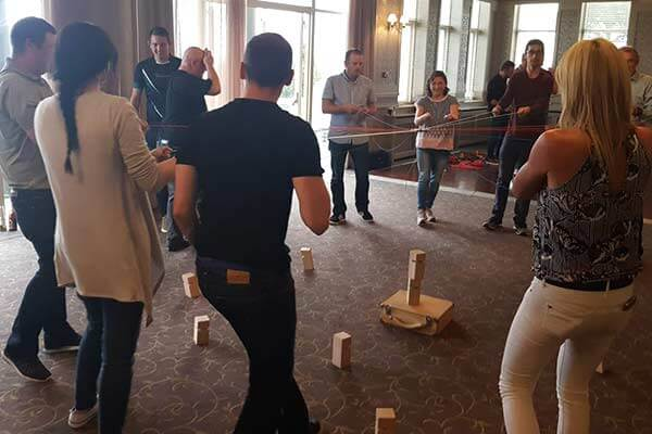 Kickstart or finish off your meeting with a Team building session.